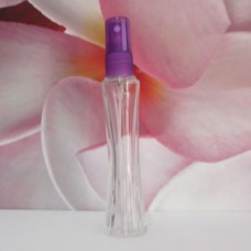 Molded Bottle PE Sprayer 30 ml Clear New Zip: PURPLE