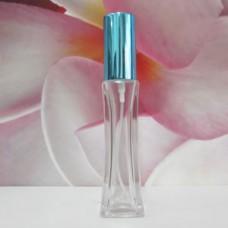Molded Bottle Aluminium Sprayer 30 ml Clear Onkoi: TURQUOISE
