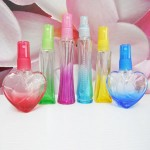Molded Glass 30 ml Colour with PE Sprayer