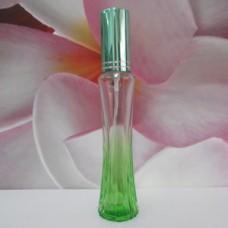 Molded Bottle Aluminium Sprayer 30 ml Colour New Zip: GREEN