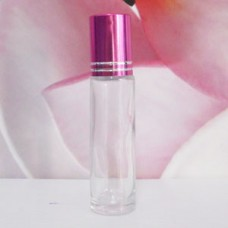 Roll-on Glass Bottle 10 ml Clear: PINK