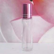 Roll-on Glass Bottle 10 ml Clear: PURPLE
