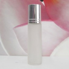 Roll-on Glass Bottle 10 ml Frosted: SILVER