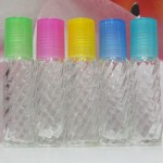 Roll-on Glass Bottle 10 ml Screw PE Cap