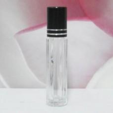Roll-on Glass Bottle 4 ml For Face: BLACK