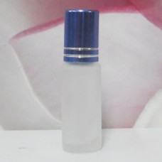 Roll-on Glass Bottle 4 ml Frosted: BLUE