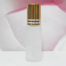 Roll-on Glass Bottle 4 ml Frosted: GOLD