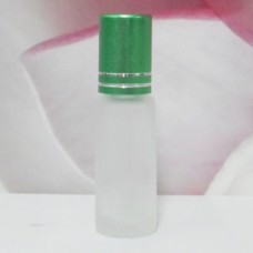Roll-on Glass Bottle 4 ml Frosted: GREEN