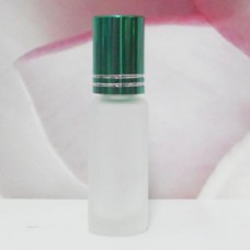 Roll-on Glass Bottle 4 ml Frosted: GREEN DARK