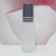 Roll-on Glass Bottle 4 ml Frosted: GREY