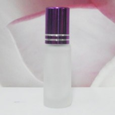 Roll-on Glass Bottle 4 ml Frosted: PURPLE