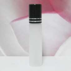 Roll-on Glass Bottle 6 ml Frosted: BLACK