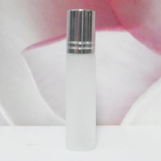 Roll-on Glass Bottle 6 ml Frosted: SILVER