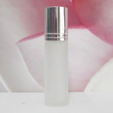 Roll-on Glass Bottle 8 ml Frosted: SILVER