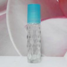 Roll-on Glass Bottle 8 ml Mala PE Cap: TURQUOISE