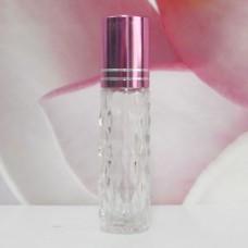 Roll-on Glass Bottle 8 ml Mala: PURPLE
