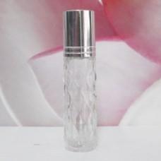 Roll-on Glass Bottle 8 ml Mala: SILVER