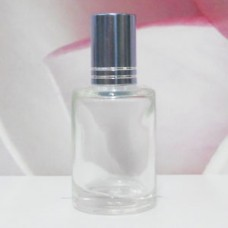 Roll-on Glass Bottle 9 ml Round: LIGHT BLUE
