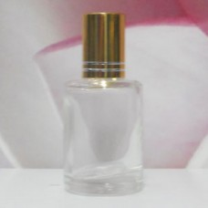 Roll-on Glass Bottle 9 ml Round: GOLD