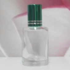 Roll-on Glass Bottle 9 ml Round: GREEN