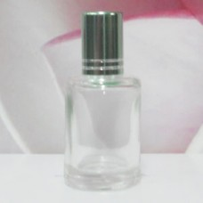 Roll-on Glass Bottle 9 ml Round: LIGHT GREEN