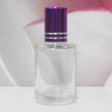 Roll-on Glass Bottle 9 ml Round: PURPLE
