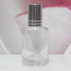 Roll-on Glass Bottle 9 ml Round: SILVER