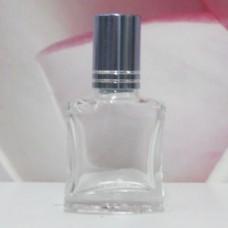 Roll-on Glass Bottle 8 ml Square: LIGHT BLUE