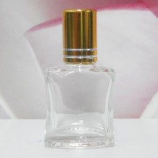 Roll-on Glass Bottle 8 ml Square: GOLD