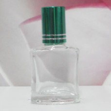 Roll-on Glass Bottle 8 ml Square: GREEN