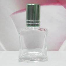Roll-on Glass Bottle 8 ml Square: LIGHT GREEN
