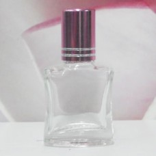 Roll-on Glass Bottle 8 ml Square: PINK