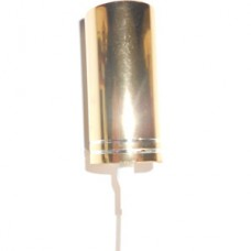 Aluminium Sprayers 18 mm - color: GOLD