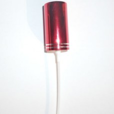 Aluminium Sprayers 18 mm - color: RED