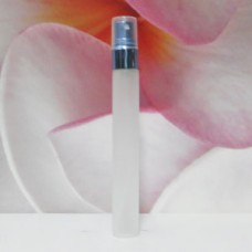 Tube Glass 8 ml Frosted with Aluminium Sprayer: BLUE