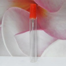 Tube Glass 8 ml Clear with PE Sprayer: RED